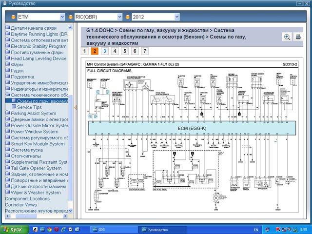 GDS VCI Hyundai & KIA - дилерский диагностический сканер последнего поколения